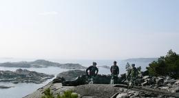 Sykkelturer på Skåtøy
